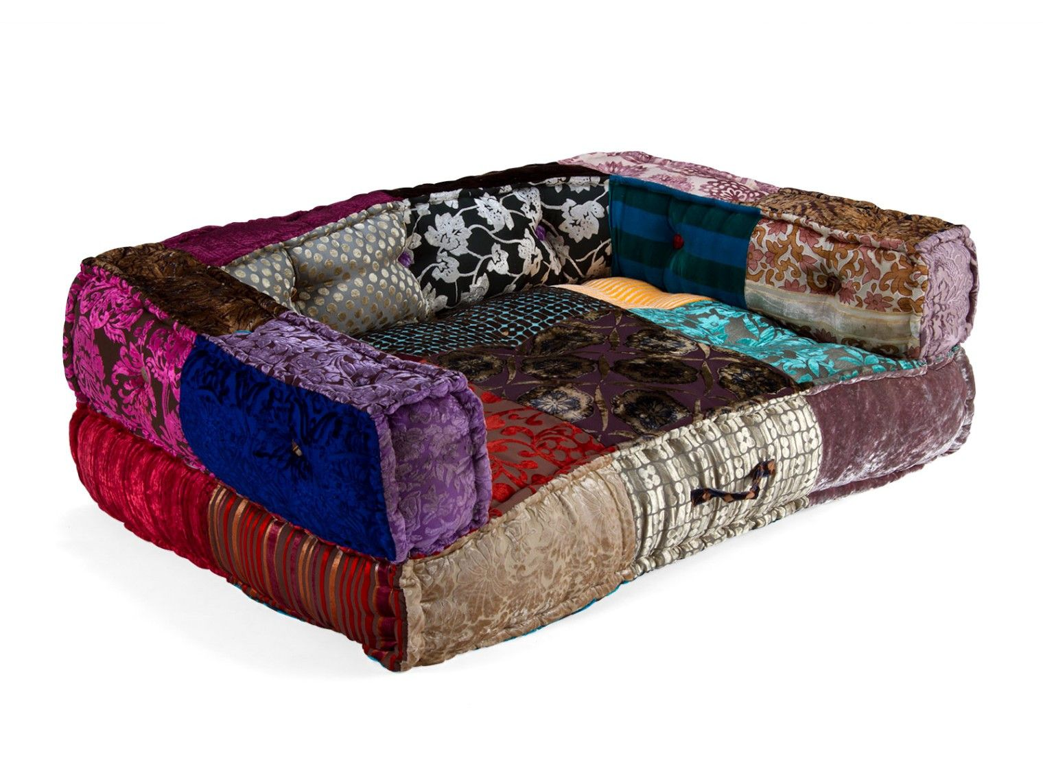 Bescheiden Schlafsofa Bunt Couch Mobel Patchwork Furniture