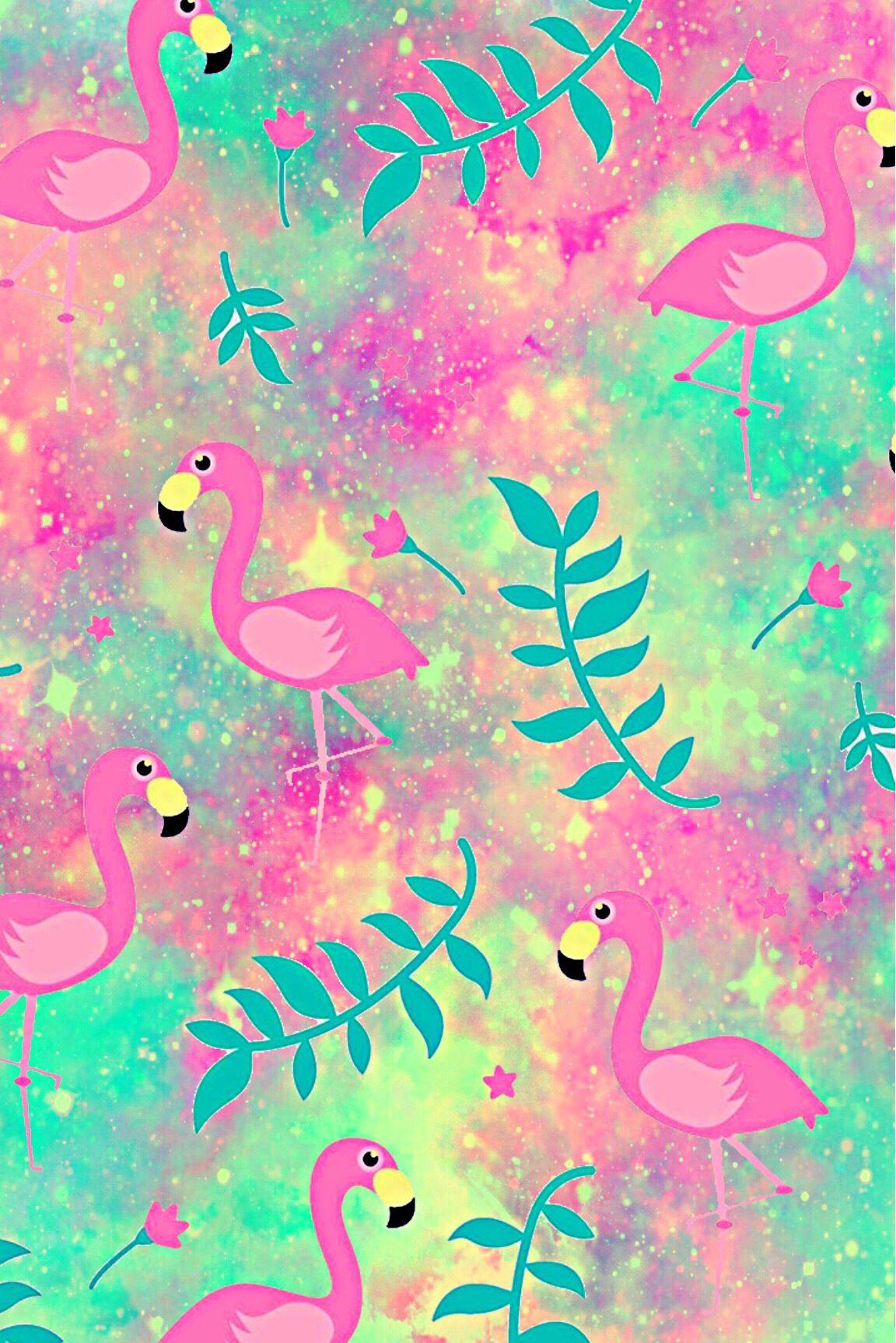 Wallpaper Lockscreen Glitter Sparkle Flamingos Birds Animals Flowers Floral Pink Cute Patt Wallpaper Pink Cute Bird Wallpaper Wallpaper Iphone Love Lock screen iphone 7 flamingo wallpaper