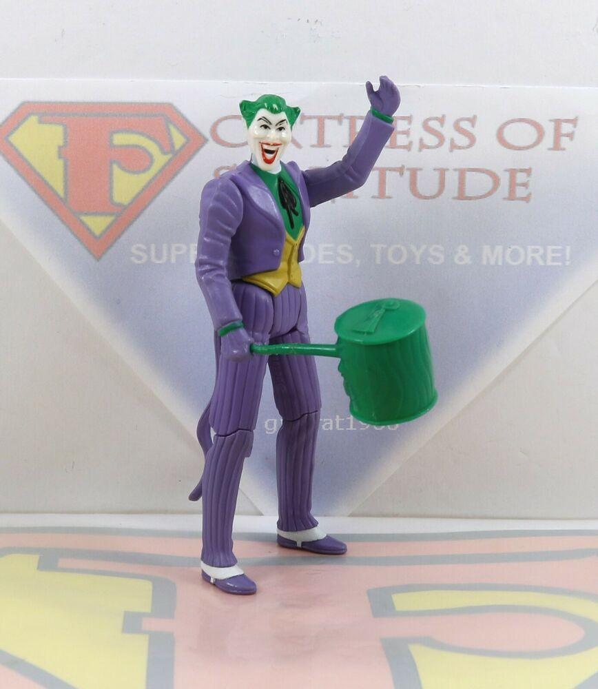 1984 The Joker Complete Vintage Super Powers Figure Kenner