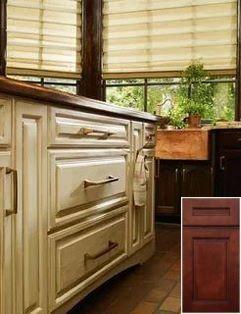 Beautiful - honey oak kitchen cabinet images. #honeyoakcabinets