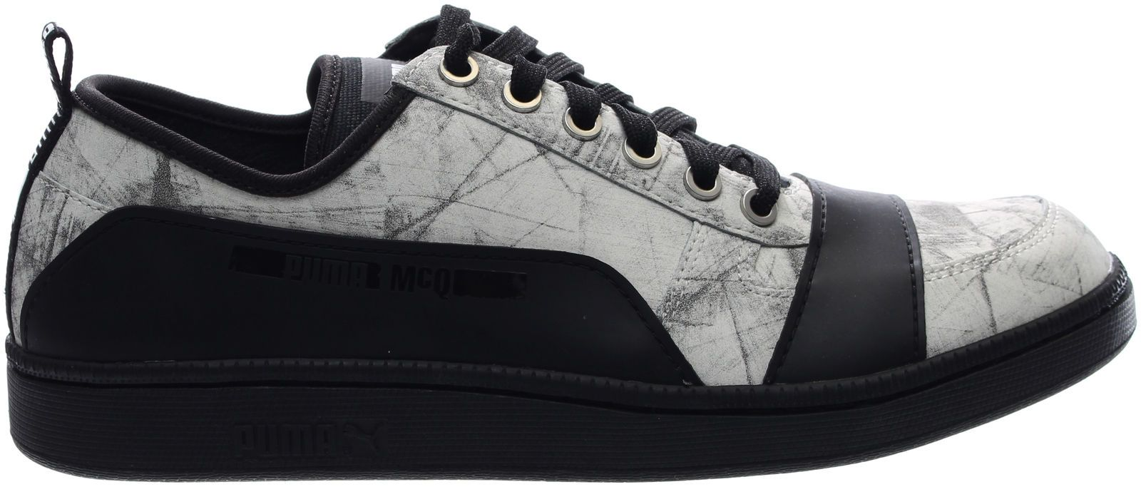 f99cffdd18 Details about Puma Alexander McQueen Serve Low Graphic Tennis Shoes ...