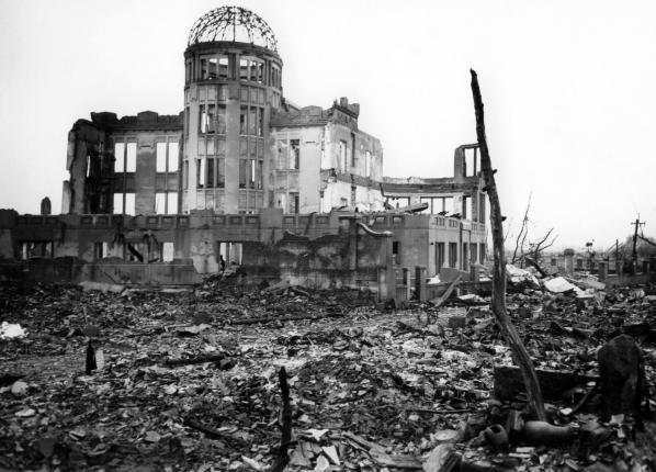 Hiroshima After The Atomic Bom With Images Hiroshima