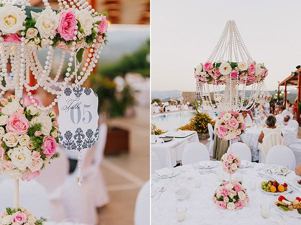 Chic vintage Crete Wedding planners and Wedding