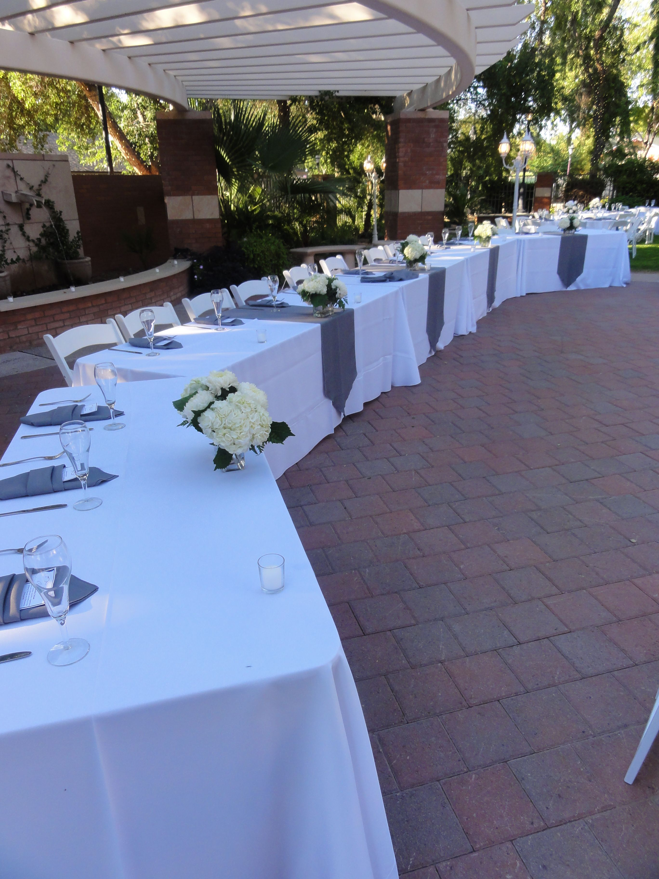 Wedding Party Head Table Arizona Catering at Glendale Civic Center