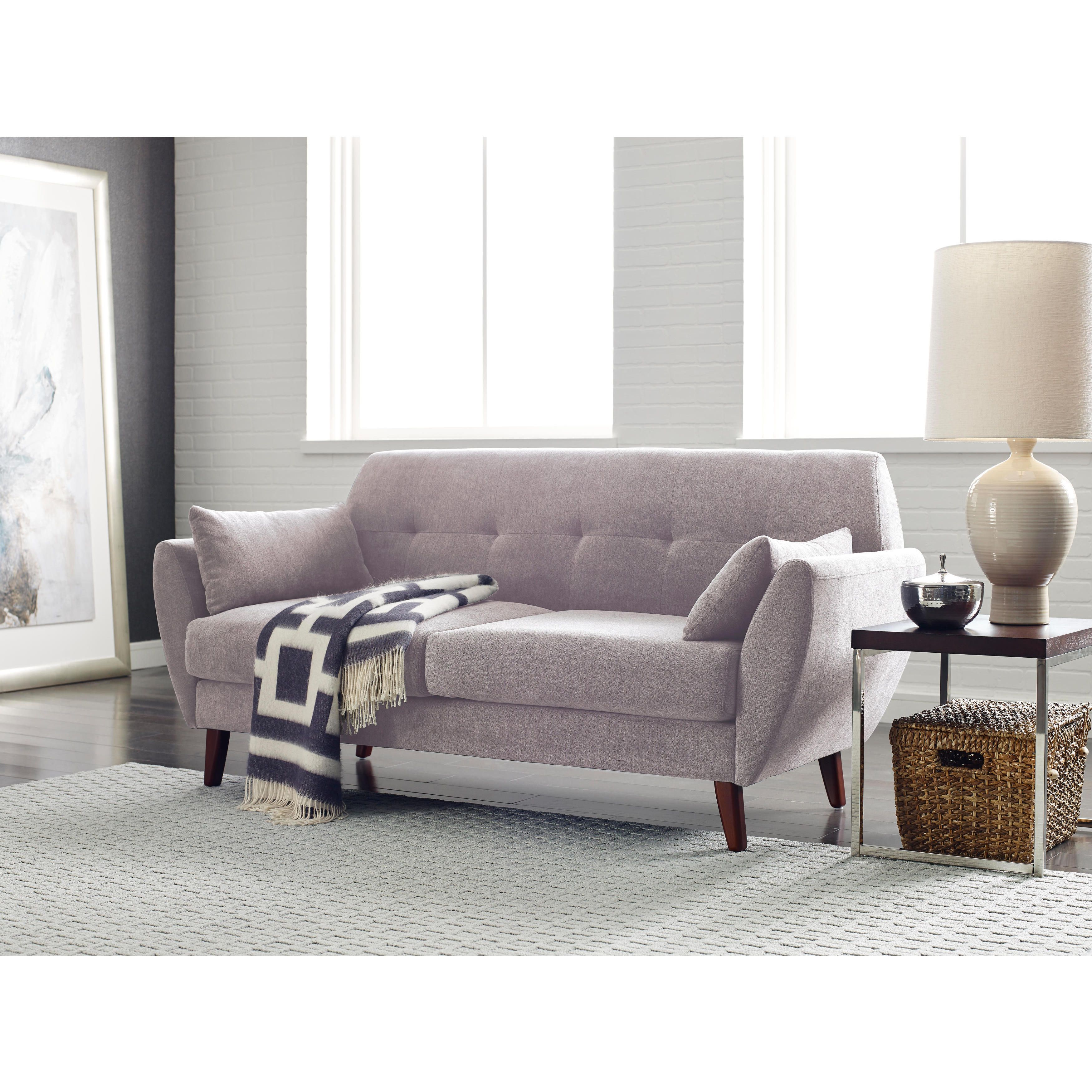 Serta artesia collection 73 sofa serta artesia collection 73 sofa in slate gray grey microfiber