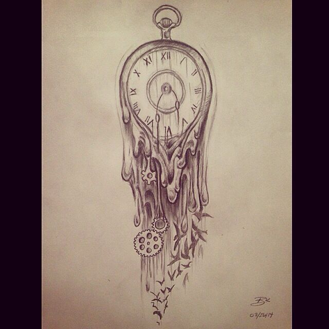 Rose Tattoos With Words Google Search: Clock Drawing Words Tumblr - Google Search