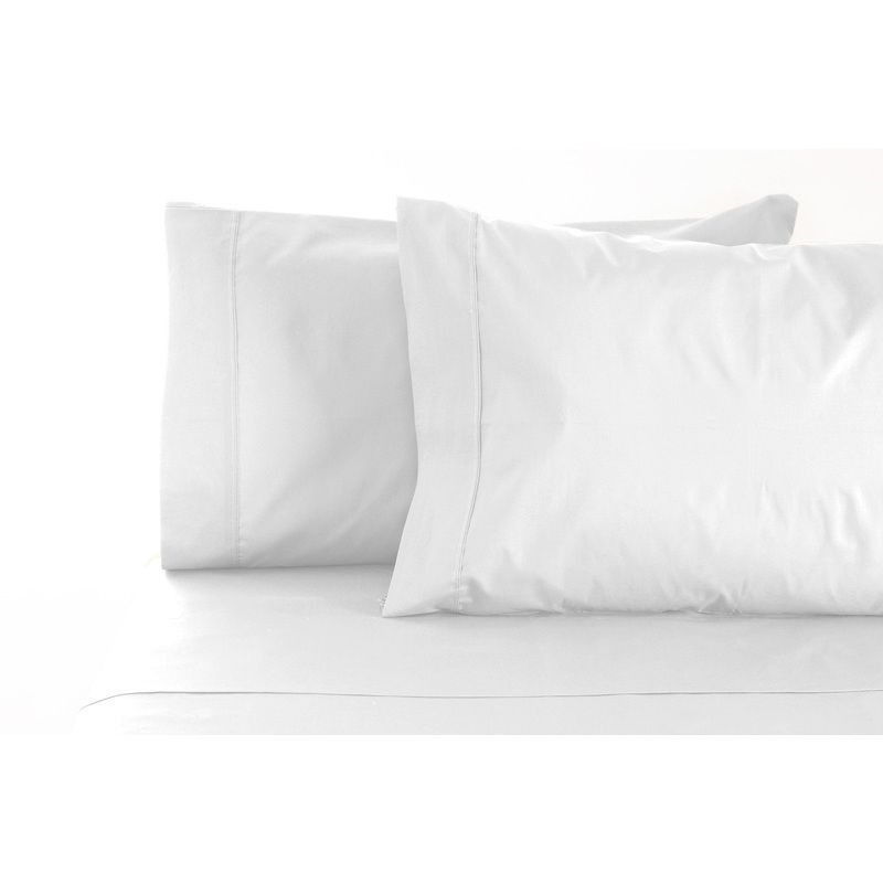 Jenny Mclean Queen Cotton Sheet Set In White 400tc Sets
