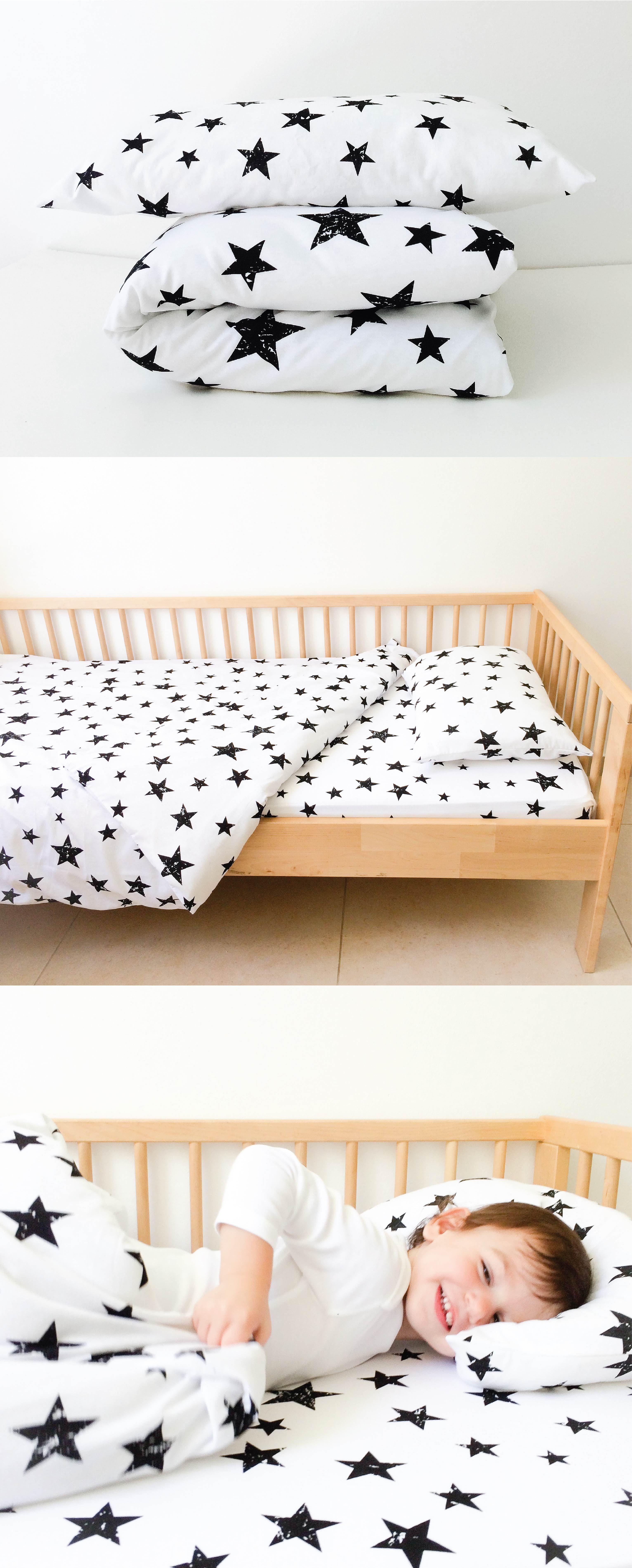 Kids Bedding Black And White Toddler Duvet Covers Crib Duvet