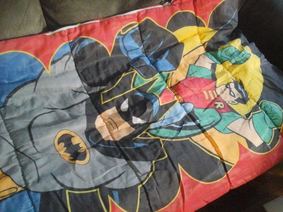 Vintage Batman and Robin Sleepingbag