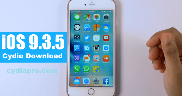 CydiaPro Cydia installer tool also upgraded their tool for iOS 9.3.5  update. Now