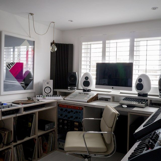 Before & After: The Recording Studio