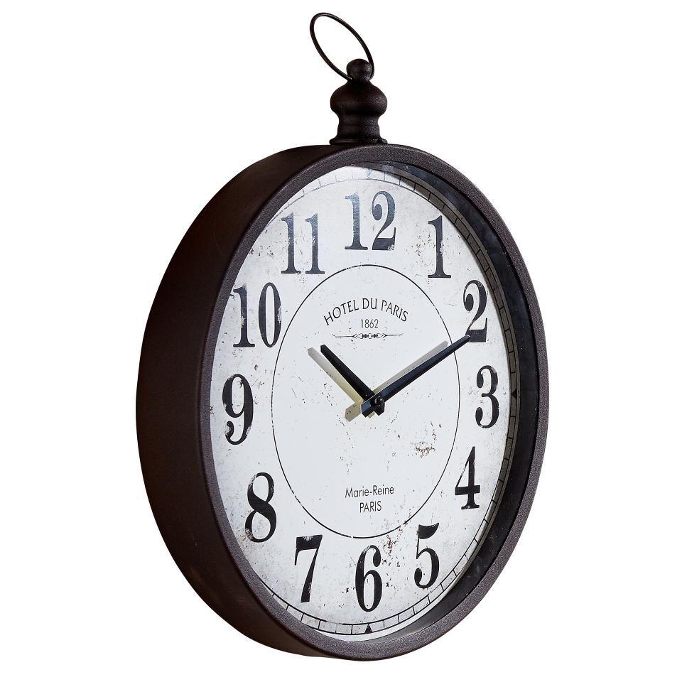 Dekorative Wanduhr Im Vintage Design Preiswert Danisches Bettenlager Wanduhr Wanduhren Uhr
