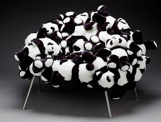 Panda Bear Chair