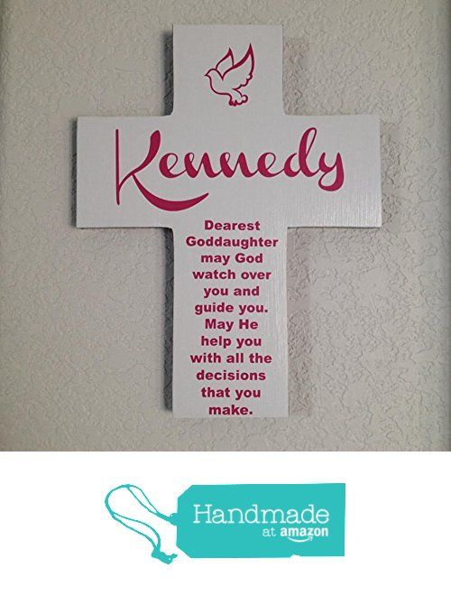 Goddaughter personalize wood cross dove and poem great gift goddaughter personalize wood cross dove and poem great gift for first communioneaster negle Image collections