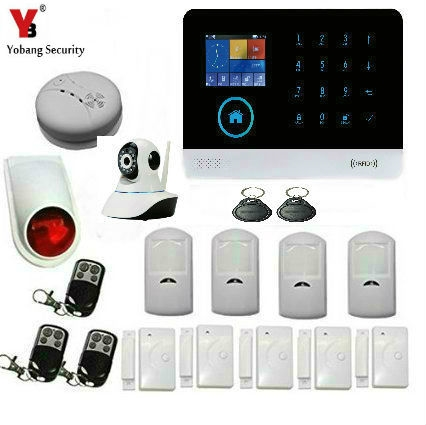 148.06$  Watch here - http://alidw1.shopchina.info/1/go.php?t=32801039489 - YobangSecurity Wireless Wifi GSM Home Office Business Security Burglar Alarm System Strobe Flashing Siren wifi IP Camera  #buyonline