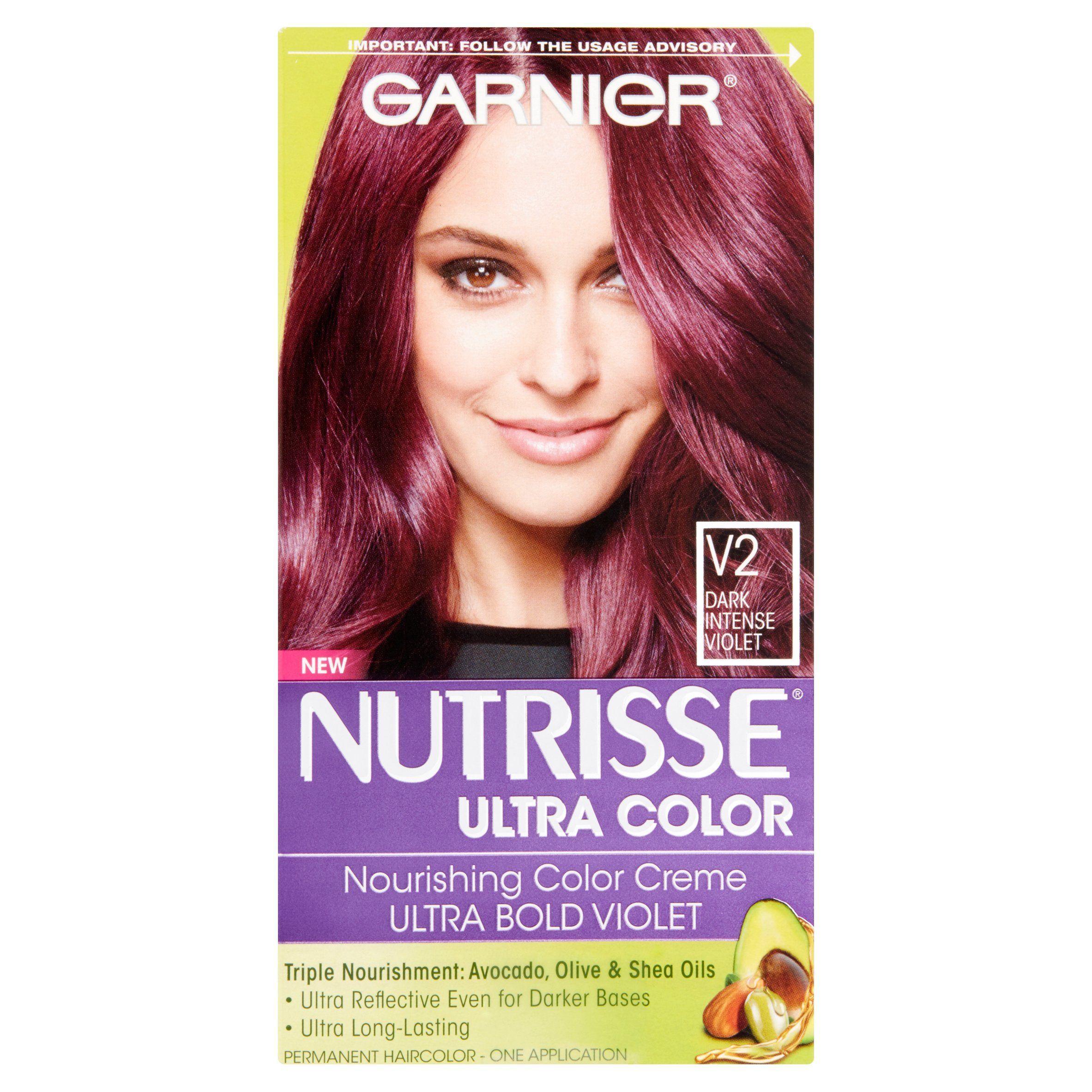 Garnier Nutrisse Ultra Color Nourishing Color Creme V2 Dark Intense