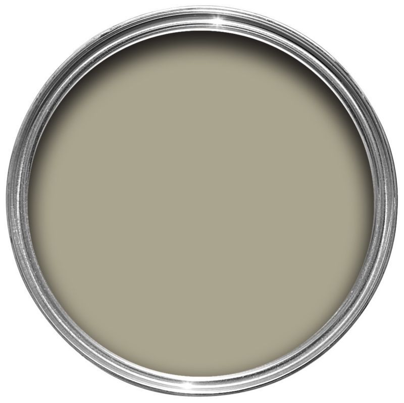 Crown Kitchen Bathroom Paint In Olive Press Green And: Dulux Once Matt Emulsion Overtly Olive 2.5L