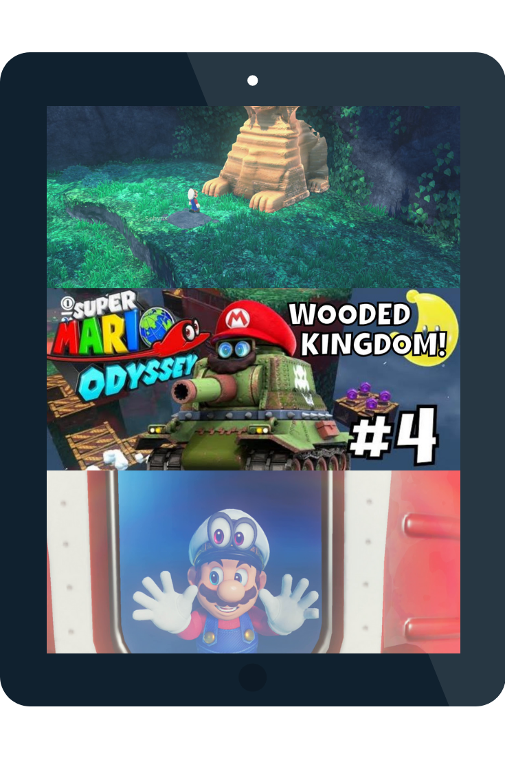 Youtube Video Wood Kingdom Nintendo Switch Games Super Mario