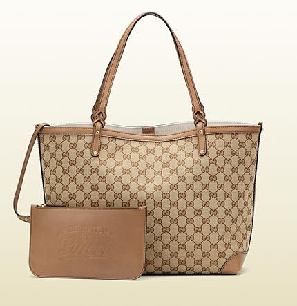 ec4fa46291ac gucci craft original GG canvas tote Just bought this in lilac ...