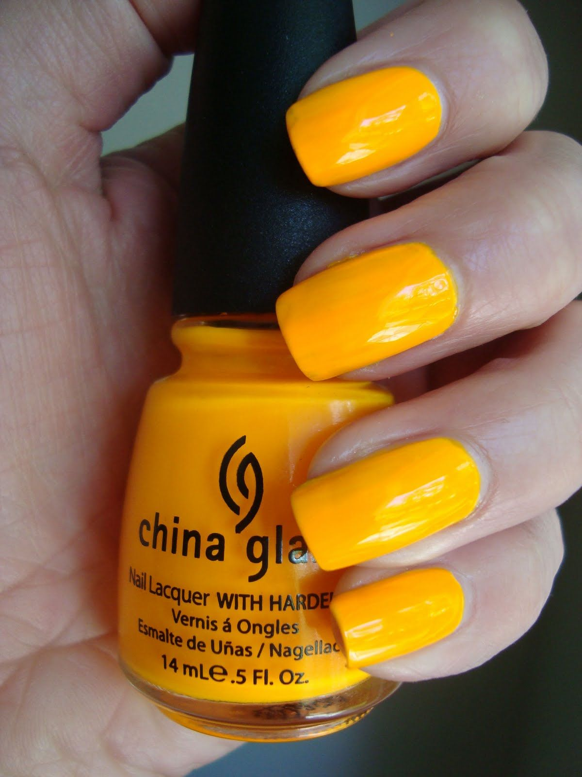 china glaze - sun worshipper ~neon orange/yellow for spring? | Nails ...