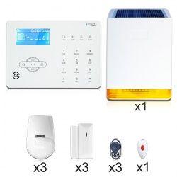 Kit Alarme Tactile Gsm Sirene Solaire Alarme Maison Sans Fil Systeme Alarme Et Alarme Sans Fil
