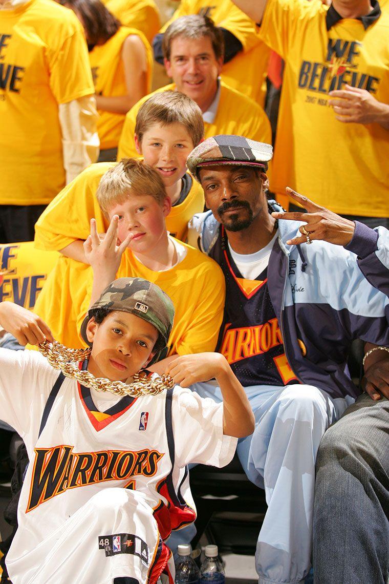 We Believe Rewind Snoop Dogg Befriends 11 Year Old Warriors Fan Golden State Warriors Love And Basketball Snoop Dogg Nba West