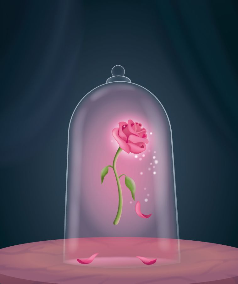 beauty and the beast rose - Google Search | beauty and the ...