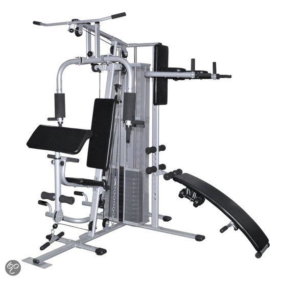 Grote Home Gym Fitness Workout Bench Thuis Gym Workouts Zonder Sportschool En Sportschool