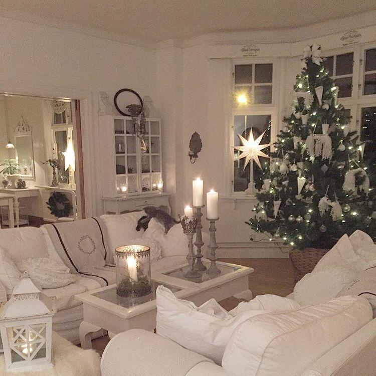 White Christmas per una bella casa svedese | Weihnachten ...