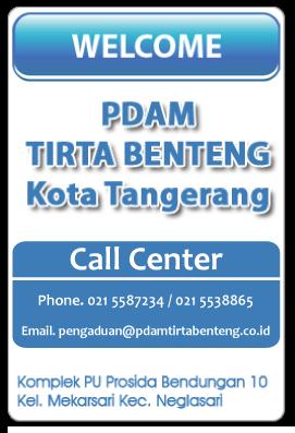 Cara Cek Dan Bayar Tagihan Air Pdam Ppob Enter Pulsa Kota Tangerang
