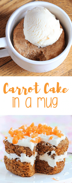 As Seen On Buzzfeed A Single Serving Carrot Cake Mug