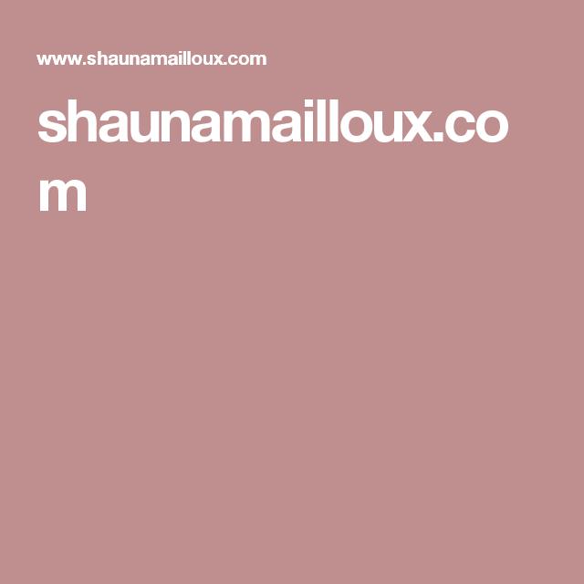 shaunamailloux.com