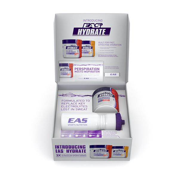 EAS Natural Health \/ Sports Medicine Product sample launch kit - product label sample