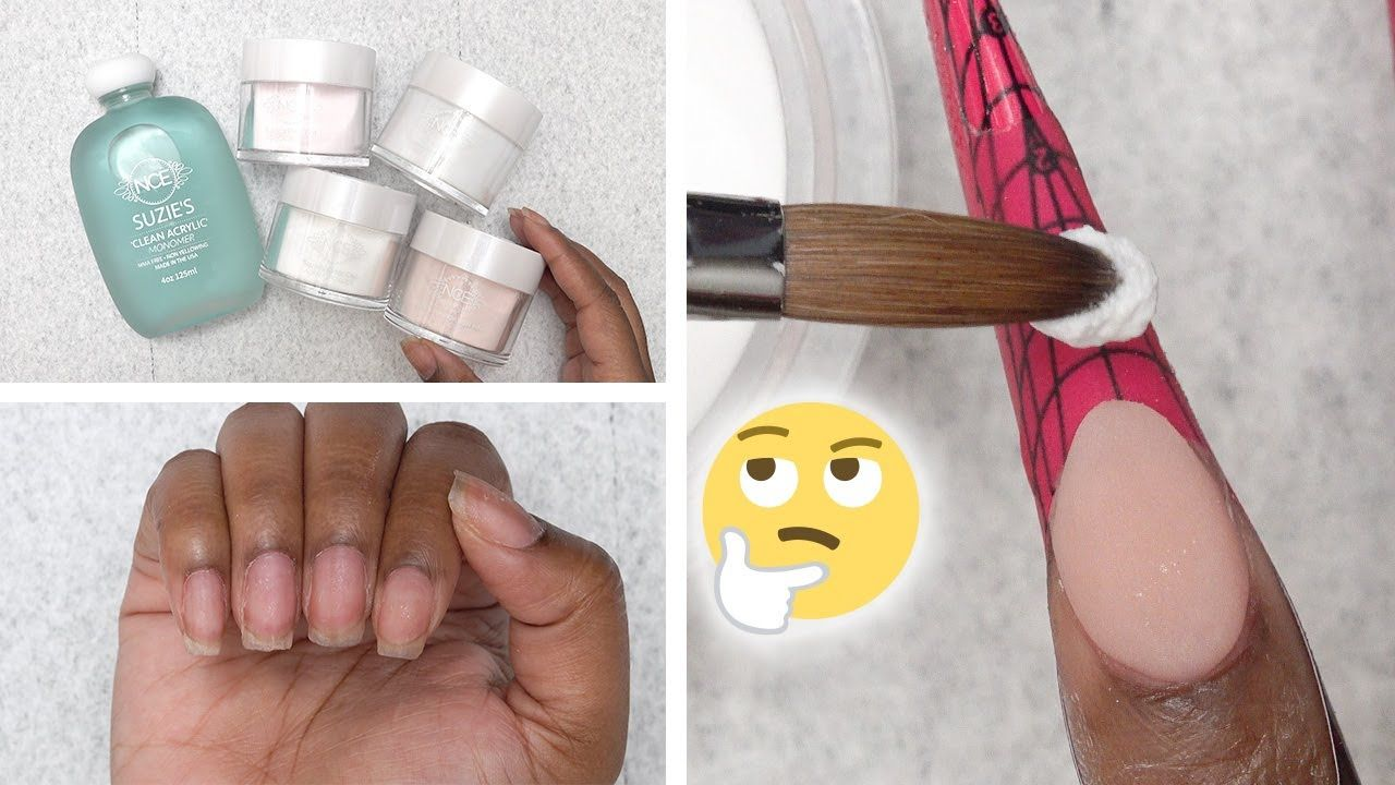 Trying Suzie's Nail Career Education Acrylic Starter Kit