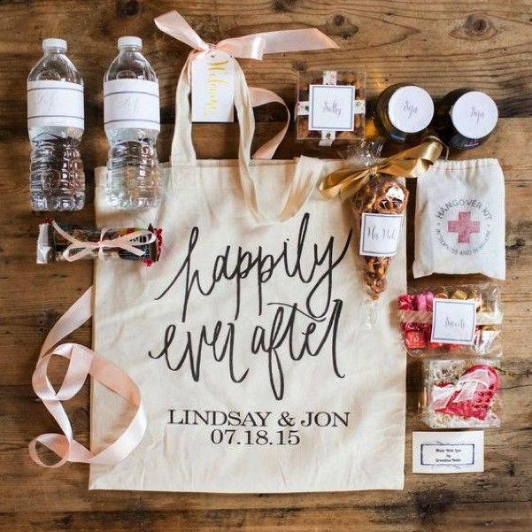 Gifts For Out Of Town Wedding Guests: How To Make Out Of Town Wedding Guests Feel Welcome
