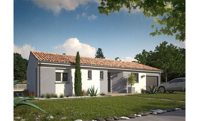 La maison Optima + garage - Constructeur maisons MCA - 1er