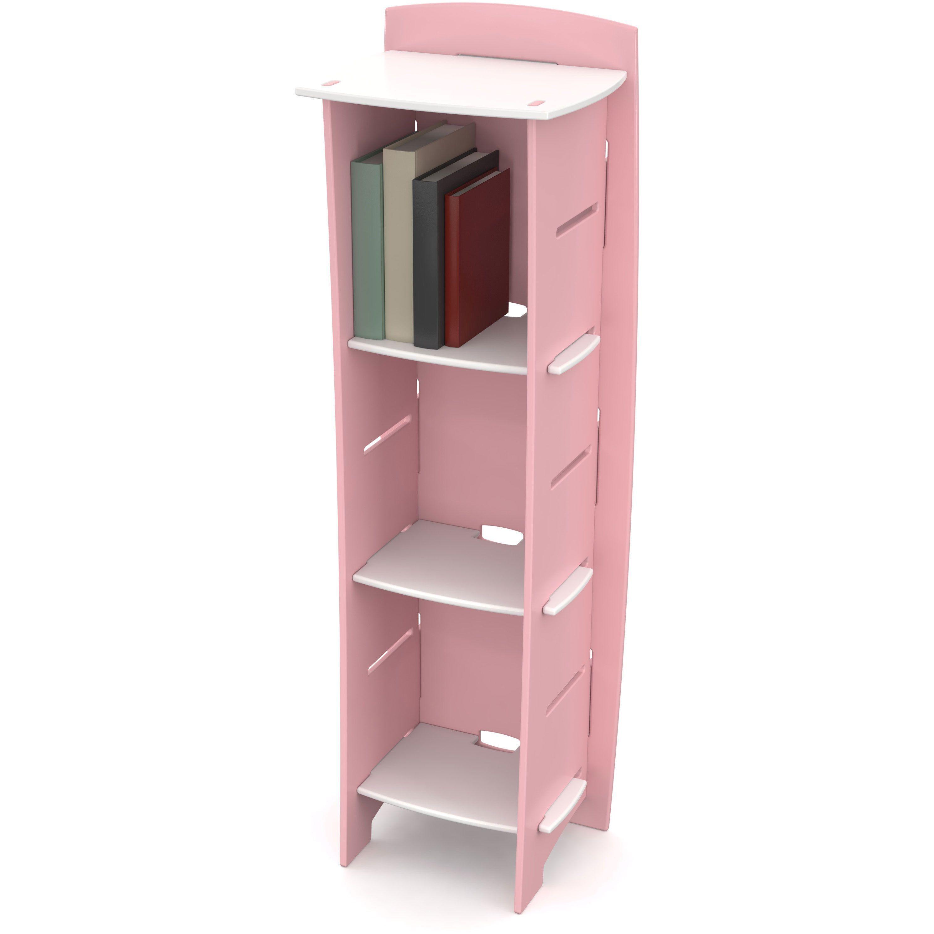 legare kids furniture 3 shelf bookcase white kids furniture