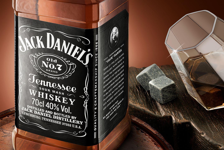 Jack Daniel's on the Rocks