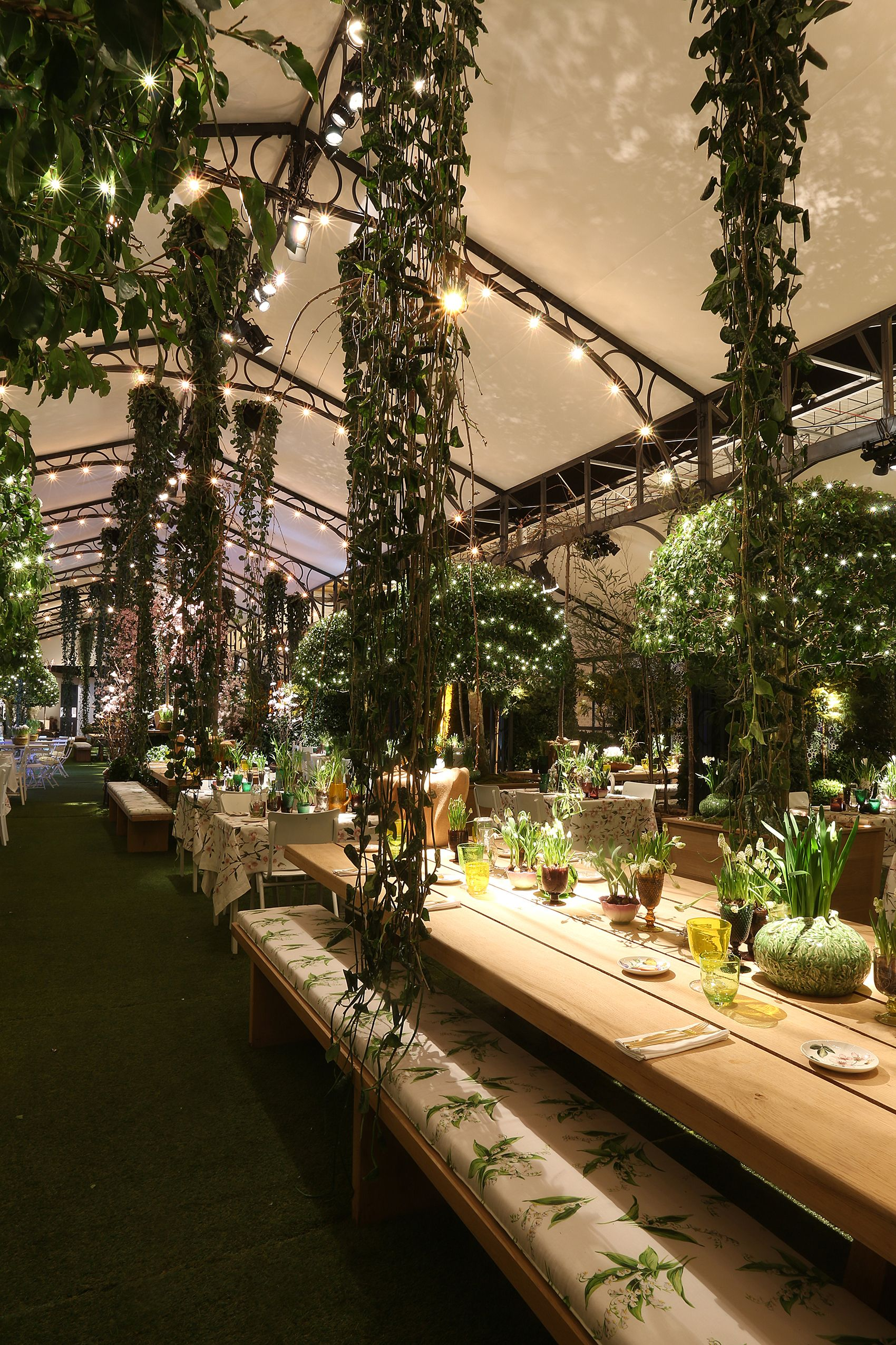 GARDEN OF EDEN BY ZARA HOME MADRID VIP LOUNGE FEBRUARY 2015 500 PEOPLE 86d37929f19