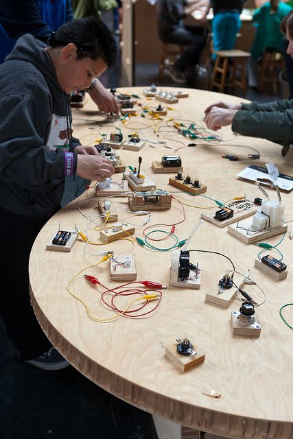 tinkering with circuits. Tinkering Studio