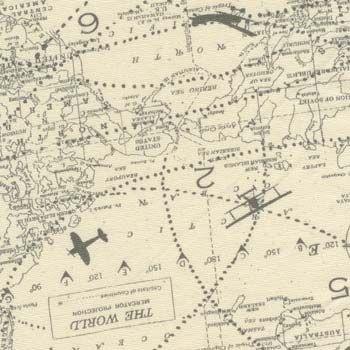 World map mcb pinterest airplane nursery nursery and babies world map map fabriccustom baby gumiabroncs Gallery