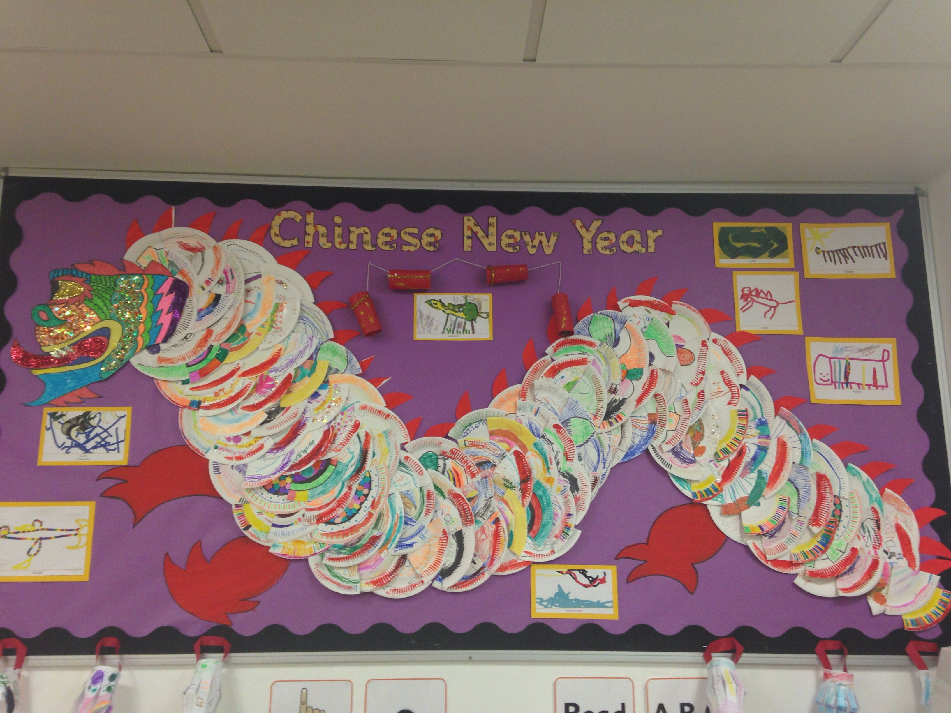 Classroom Ideas For New Years ~ Chinese new year display for reception classroom