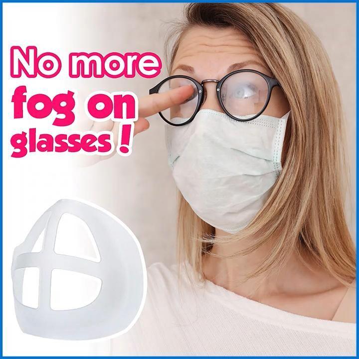 FRAMASK™ : 3D Face Mask Brackets Breathe comfortab