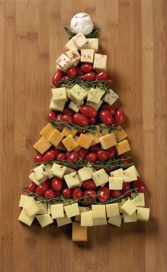 fetes de noel idees originales apero fromage recette sapins sapin noel