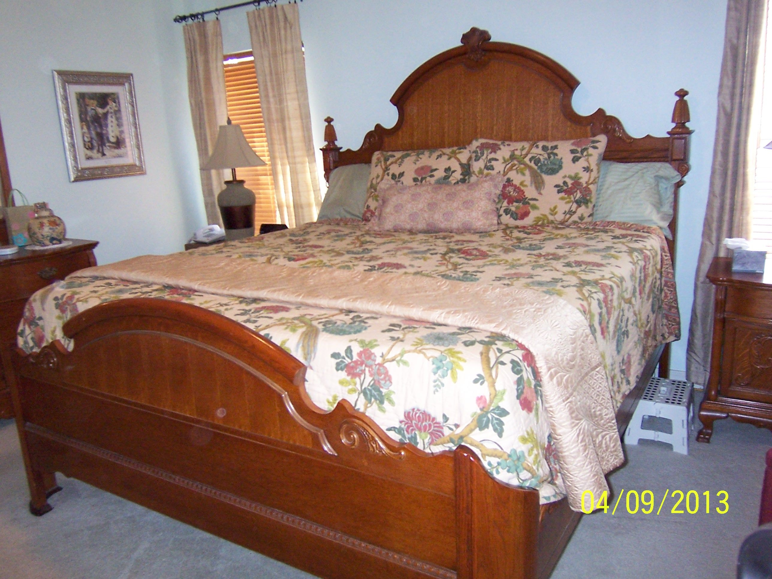 Lexington Victorian Sampler King Mansion Bed I Have The Queen Bed And Am Contemplating Selling