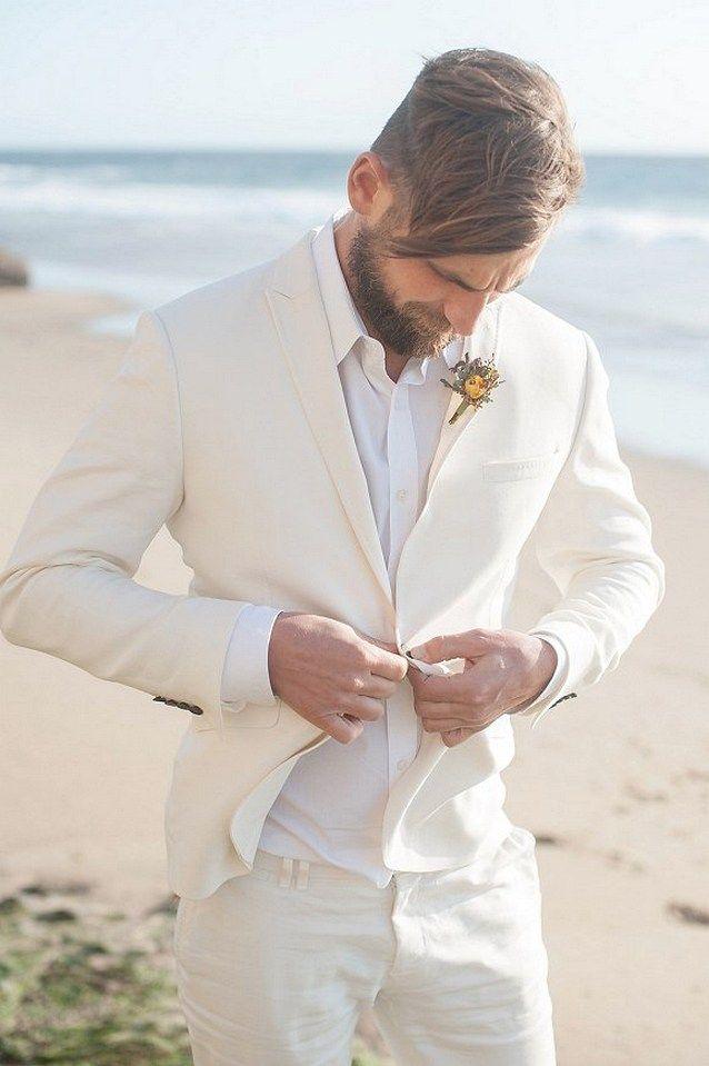 Beach Wedding Groom Attire Ideas (31) | Beach wedding groom attire ...