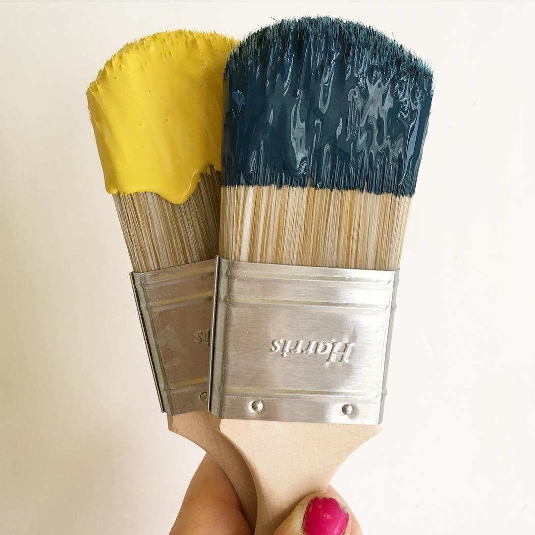 Hague blue babouche yellow farrow and ball pantone - Bleu farrow and ball ...