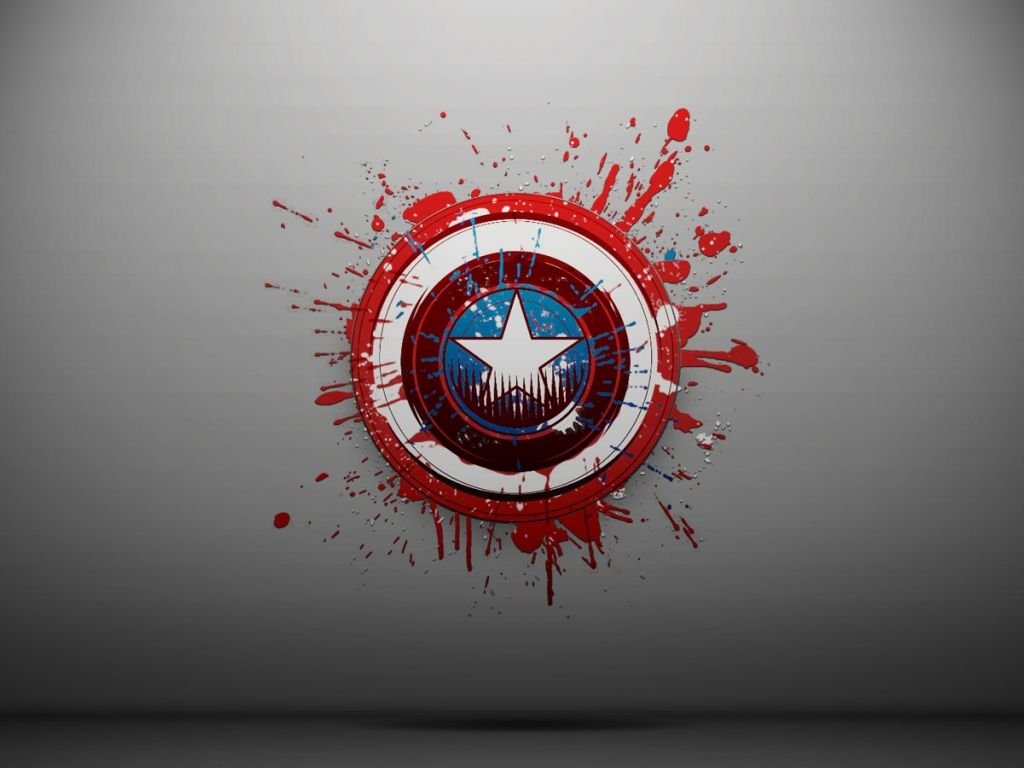 Wallpapers Captain America Logo Random Daily 1024x768 Captain America Shield Wallpaper Captain America Wallpaper Marvel Wallpaper Hd