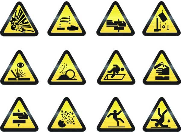 Pictogram Symbols | Safety Pictograms | S&S: Warning Symbols ...