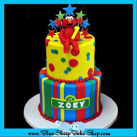 Elmo 1st Birthday Cake KIDS CAKES 1 Pinterest Elmo Birthday
